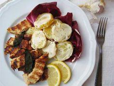 Un piatto leggero e saporito - Ricetta Portata principale : Tacchino marinato al balsamico con patate alla senape da Mtitti77
