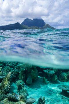 b-eachyparadise:  souhailbog:     Hidden Beneath the Tropical Sea and Sky  ©  More
