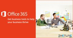 Be #productive  wherever you go! Work faster and smarter across your favorite device, while staying current and connected.  Know about #Office365  - a business tool that works as hard as you do: https://www.znetlive.com/business-productivity-suite/