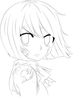 Fairy Tail Wendy Lineart by on DeviantArt Natsu Drawing, Fairy Tail Drawing, Fairy Tail Art, Fairy Tail Anime, Manga Drawing, Drawing Sketches, Anime Chibi, Anime Lineart, Me Anime