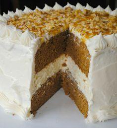 Pumpkin Cheesecake Cake http://www.shugarysweets.com/2012/09/pumpkin-cheesecake-cake