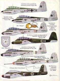 Messerschmitt Me-210.