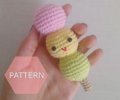 amigurumi dango pattern