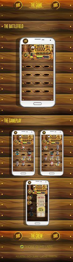 Arte Videojuego mobile: Whack a Robot: Smash it - imagen 5/5 - Plataforma: Android