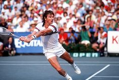 Starting July 29, 1974, Jimmy Connors is the top ranked Men's Tennis player in the world and will remain there for 160 consecutive weeks.