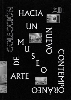 CA2M Collection XIII Editorial, Calm, Book Covers, Artwork, Books, Spain, Posters, Design, Collection