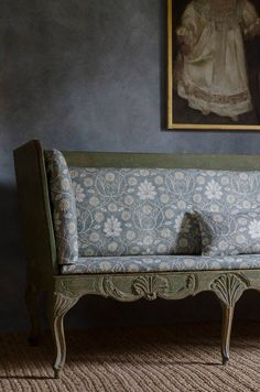 Antique sofa upholst