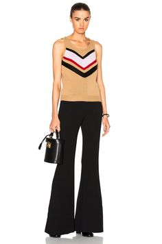 Image 5 of Giambattista Valli Embroidered Sweater in Beige