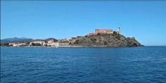 Stock video available for sale at Fotolia: View Of Fort Stella, Portoferraio, Elba Island