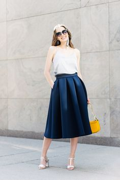 The Isabelle formal skirt is the ideal midi skirt. It is made from flawless neoprene which perfectly holds its shape and structure. Neoprene Fashion, Dress Skirt, Midi Skirt, Minimal Wardrobe, Casual, High Waisted Skirt, Fashion Outfits, Fashion Ideas, Trending Outfits