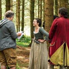 *New* BTS Pic of Laura Donnelly as Jenny Fraser in Outlander | Outlander Online