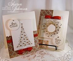No Time To Stamp? » Sparkly Christmas – Playing with Favorites created by Sharon Johnson