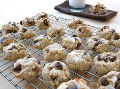 Food Processor Chocolate Chip-Oatmeal Cookies