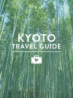 If you're planning a trip to Kyoto, Japan you've got to check out this city guide! It's packed with Sarah's favorite places to go and eat!