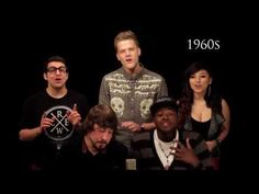 Evolution of Music - Pentatonix (vidéo)