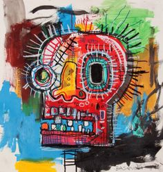 JEAN MICHEL BASQUIAT 1984 signed and dated on front and back