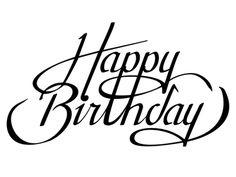 i love ligatures happy birthday see this instagram photo by rh pinterest com happy birthday logos for a friend happy birthday logos free