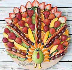 Plus de 1000 id es propos de deco fruits sur pinterest for Decoration salade de fruits