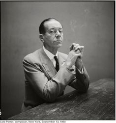 Cole Porter, September 13, 1950, New York. Photo by Richard Avedon.