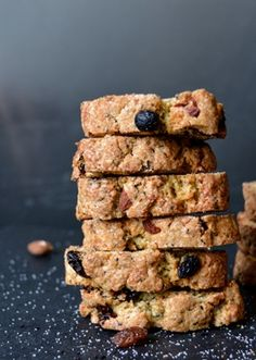 EARL GREY BISCOTTI with ALMONDS & RAISINS [eatinmykitchen] [biscotti, cantuccini, cantucci]
