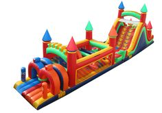 Adults courses for inflatable obstacle