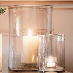 Henry Dean Candle Holder - Large   The White Company