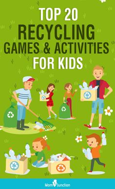Searching for some unique recycling activities for kids? Yes, here are a few fun recycling games and activities for your little environmentalist. Recycling Games, Recycling Activities For Kids, Art Games For Kids, Recycling For Kids, Preschool Activities, Dementia Activities, Montessori Preschool, Motor Activities, Indoor Activities