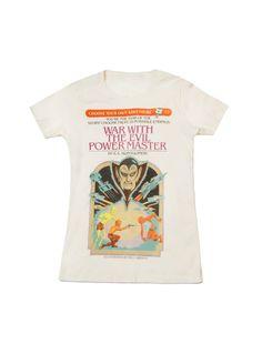 e90d7d69bd04 Choose Your Own Adventure women s book t-shirt