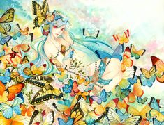 Butterfly Forest by laverinne on DeviantArt