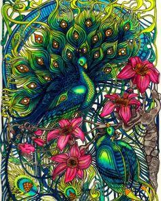 #colorirlivros #coloriagepouradultes #coloringbook #pencil#colorirlivros…