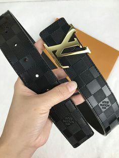 125cm Gold Belt Maker Fashion Belt Unisex Gold Buckle Leather Belt Grey 38-42