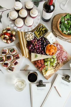 the perfect cheeseboard || wine tasting menu inspiration