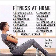"""Double tap and tag a friend that would love this workout! #fitness #health #workouts #abs #weight #diet #slim #exercise #fat #tips"