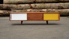 Meuble Tv Sideboard Esprit Vintage Scandinave LANTIGONE : Meubles et rangements par lantigone