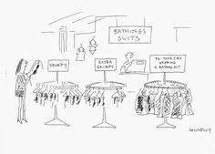 Summer is coming! Get prepared! Liza Donnelly NY cartoonist