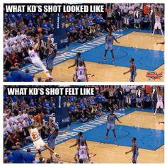 Kevin Durant's 4-Point Play vs. Michael Jordan's... - http://nbafunnymeme.com/uncategorized/kevin-durants-4-point-play-vs-michael-jordans