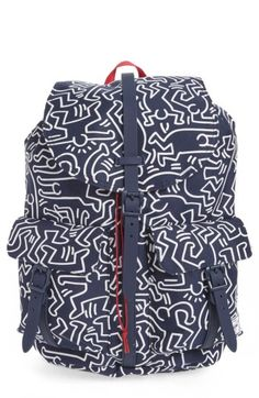 57ec69ae81 HERSCHEL SUPPLY CO. DAWSON KEITH HARING BACKPACK - BLUE.  herschelsupplyco.   bags