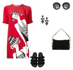 """""""#1780"""" by apvick ❤ liked on Polyvore featuring Gucci, Holly Fulton, Simone Rocha, Sacai and Fallon"""