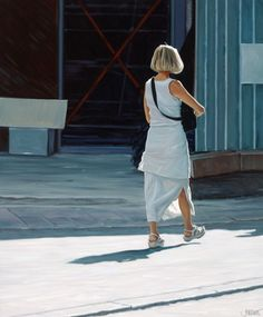 Woman in Sunlight – Jim Farrant (English, born 1972).