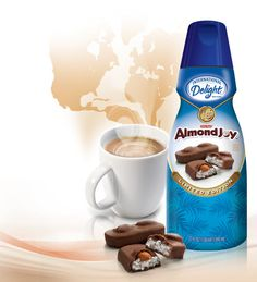 Almond Joy coffee creamer - dessert in a cup