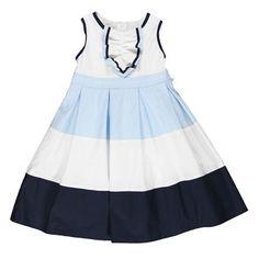 Abito tricolor in popelineDa Bambina | Abbigliamento Brums