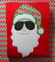 Cool Dude Santa  FREE PERSONALIZATION by CrabbyNurseCreations