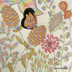 Coloring Coloringbook Tropicalwonderland Tropicalworld Milliemarotta Livrodecolorir Paraisotropical Fabercastell