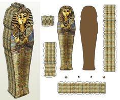 Sarcophagus paper craft
