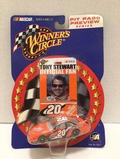 2002 WINNERS CIRCLE 1/64 TONY STEWART #20 PIT PASS HOME DEPOT GRAND PRIX N3 #WinnersCircle