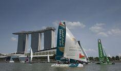 Extreme Sailing Series™. Confirmadas las tripulaciones para primer Acto en Singapur