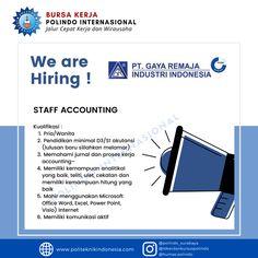 Info lowongan pekerjaan PT Gaya Remaja Industri Indonesia Terbit Juli 2020   info lebih lanjut dan bisa menembus dunia kerja, cek instagram kami : @lokerbursakerjapolindo Surabaya, Dan