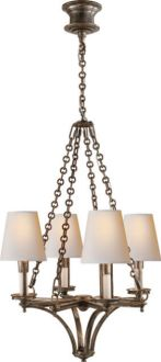 Verona Four-Light Chandelier - TOB5021-Circa-Front Foyer-Above Round table