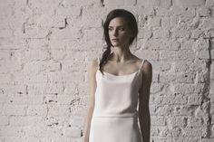 40b9000e62 Skromna suknia ślubna. Poznaj wszystkie modele Karolina Twardowska Atelier  z kolekcji 2016.