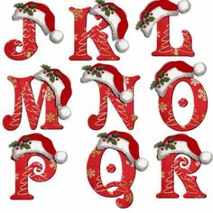 Flowers and letters for decoupage Christmas Alphabet, Christmas Fonts, Christmas Stencils, Christmas Crafts For Gifts, Christmas Templates, Christmas Clipart, Christmas Paper, Christmas Projects, Craft Gifts